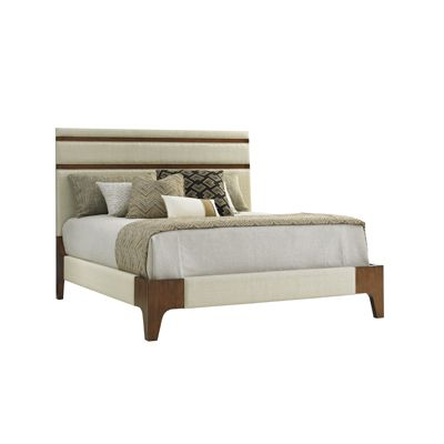 Mandarin Upholstered 6/6 Panel King Bed